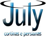 July Cortinas em Curitiba Logo